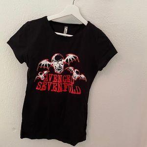 Avenged sevenfold band shirt